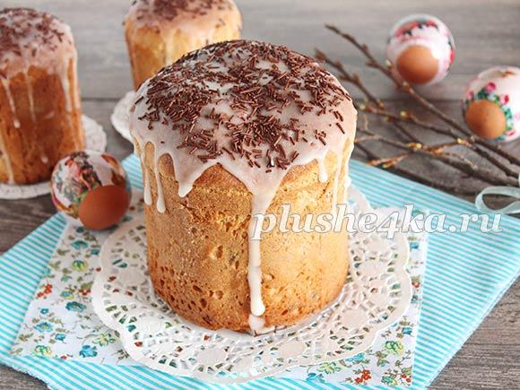 Тесто для кулича, приготовленное в хлебопечке