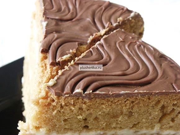 Бисквитный торт на лимонаде в мультиварке