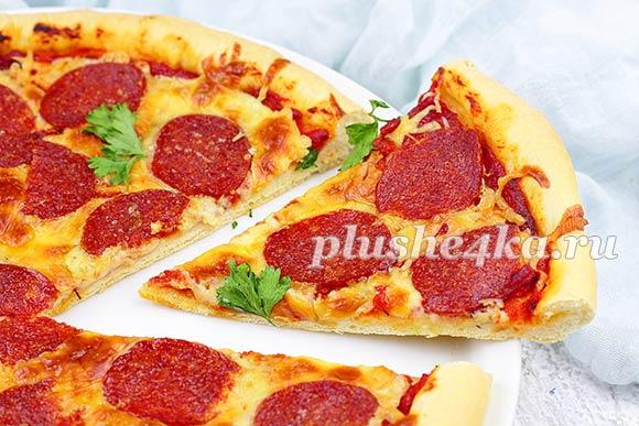 Домашняя пицца Пепперони