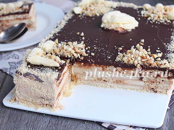 Песочный торт «Ленинградский»
