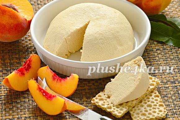 Сладкий сыр из топленого молока