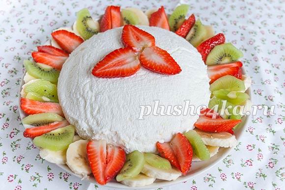 Десерт «Joghurt Bombe»
