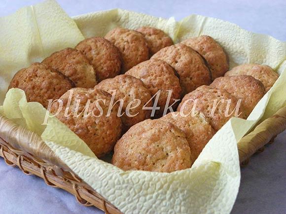 Классическое домашнее овсяное печенье