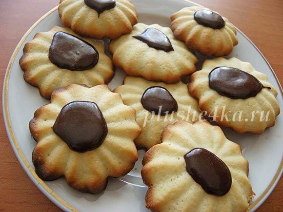 Песочное печенье из кондитерского мешка