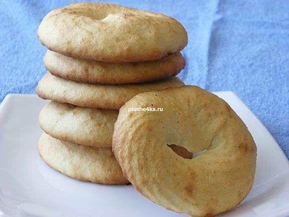 Печенье с манкой на кефире