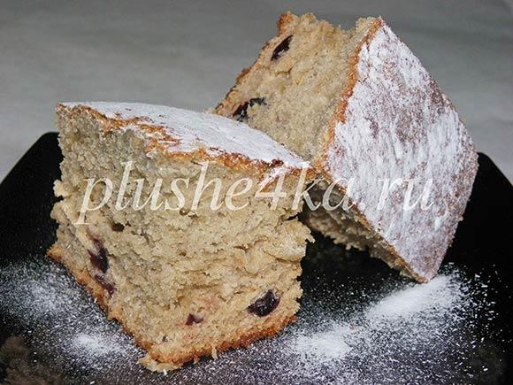 Пирог на варенье и кефире