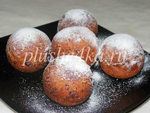Творожные пончики, жареные во фритюре