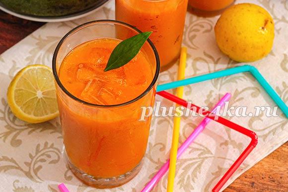 Лимонад из манго
