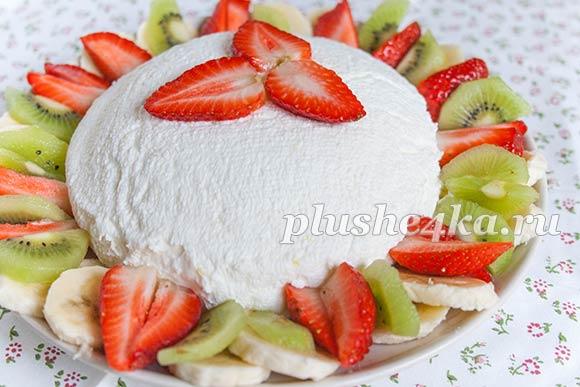 Десерт «Йогуртовая бомба»