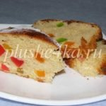 Пирог с цукатами