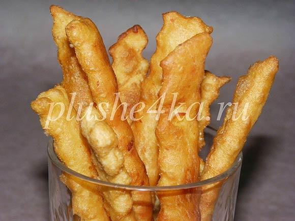 основании результатов картофельный хворост рецепт с фото увеличить