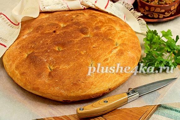 Классический итальянский хлеб (фокачча)