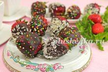 Клубника в шоколаде, сделанная в домашних условиях