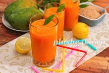 Домашний лимонад из манго