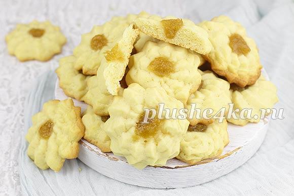 Домашнее печенье Курабье