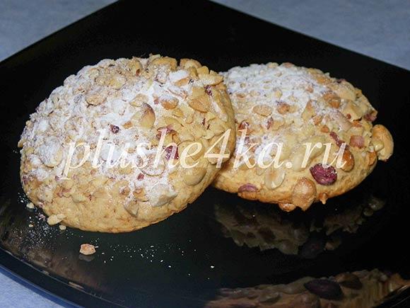 Печенье с медом и орехами