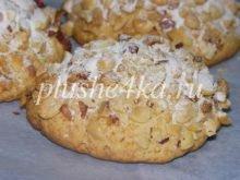 Песочное печенье с медом и орехами
