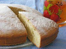 Пирог на сметане и маргарине