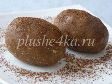 Пирожное «Картошка» из печенья и масла