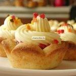 Пирожное «Корзиночка» с масляным кремом