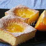 Простой пирог с апельсинами
