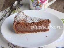 Домашний шоколадный чизкейк
