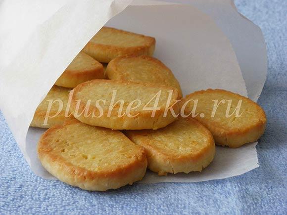 Соленое печенье с сыром
