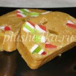 Торт из печенья с мармеладом без выпечки