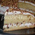 Торт «Машенька» на сгущенке со сметанным кремом