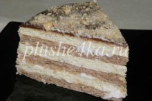 Торт на сметане без яиц