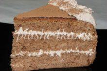 Торт «Прага», приготовленный в мультиварке