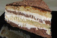 Домашний торт с масляным кремом