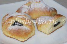 Творожное печенье с черносливом
