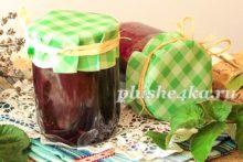 Варенье из черной смородины и малины