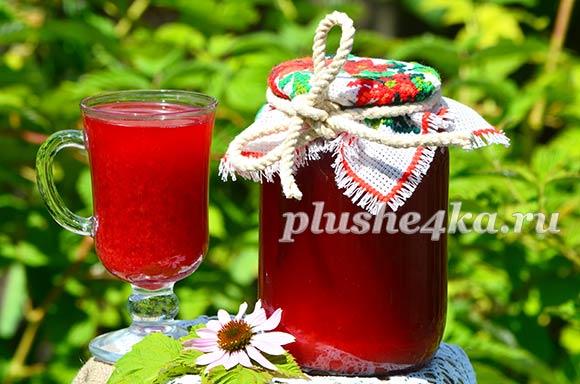 Вишневый сок с мякотью на зиму