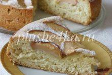 Яблочный пирог «Пятиминутка»